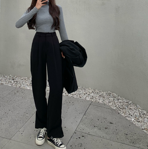 High waist slack pants LD0390