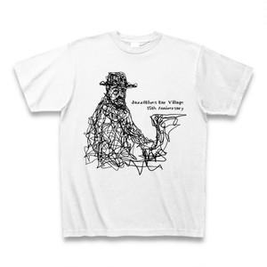 Village 15周年記念オリジナルTシャツ その1(ホワイト)
