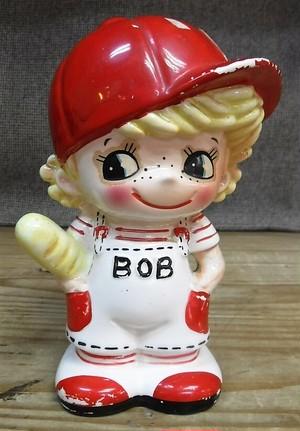 内藤ルネ 少年BOBの貯金箱(062820360)