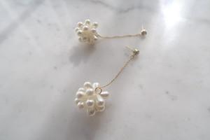 bon bon pearl pierce / earring