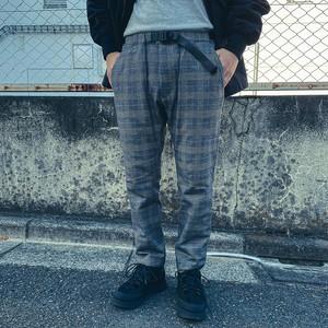 Glen Check Tapered Pants