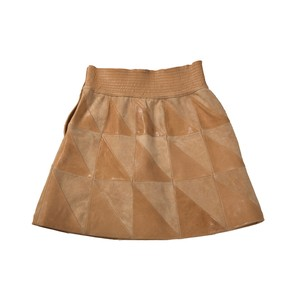 Séme Skirt Leather Short / Decollection