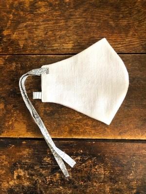 【NEW】Khadi cotton マスク /  デニムカディ ホワイト