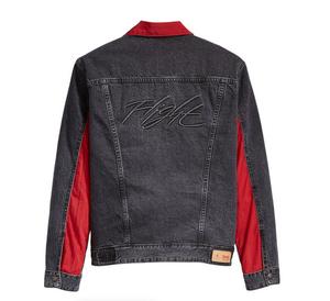 Air Jordan x Levi's Reversible Trucker Jacket Black/Red