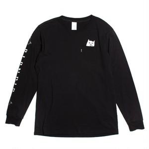 RIPDIP -  Lord Nermal Pocket L/S (Black)