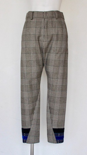 HISUI Glen Check Pants