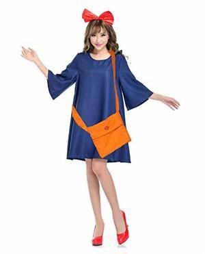 【在庫有】ハロウィン コスプレ レディース 魔女の宅急便 キキ 衣装 SGSA 0100