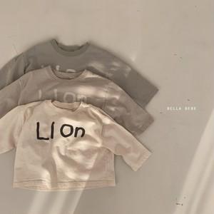 【新作予約】LION logo T-suit【baby】