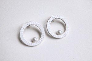 P-HOOP PIERCE 【WHITE】