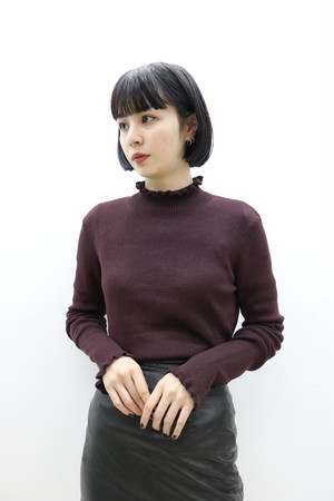 turtleneck knit / TP11200007