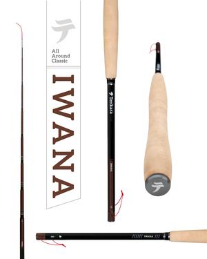 IWANA /TENKARA USAテンカラ竿と毛鉤のセット