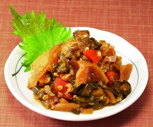 野菜たっぷり金山寺みそ!栄養豊富な5種の野菜 一品料理としておもてなし!