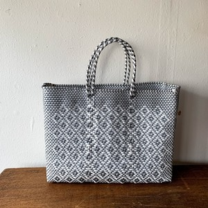 MERCADO BAG|RONBO (White×Silver) L