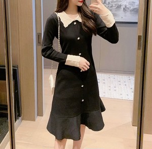 point lace dress
