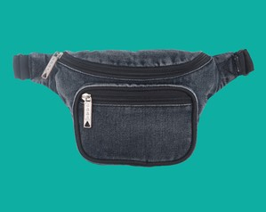 Bum bag / DAZED DELUXE HIP PACK / WASHED BLACK