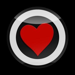 3Dゴーバッジ 17番 HEART PREMIUM 04