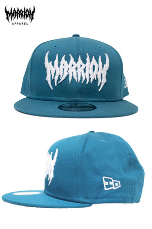DEATH MARRION CAP Ver.2 (Shark Teal×White NA)