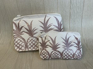 ALOHA  collection 「CUATRO PINAS」Small Pouch