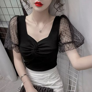 tulle dot tops 3color