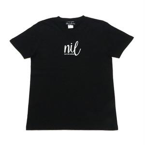 インディーズデザインTシャツ「nil なにもないところから始める」 レディスTシャツ