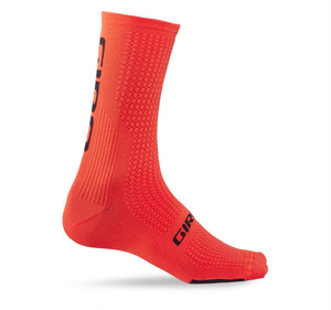 GIRO HRC TEAM SOCKS / Vermillion / Black