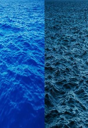彦坂尚嘉『Upright Sea/切断海』