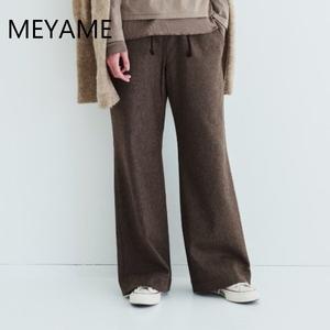 MEYAME/メヤメ・Wool Relax Pants