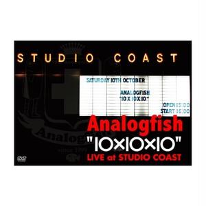 """10×10×10"" LIVE at STUDIO COAST DVD"