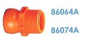 """86074A 汎用クーラントホース3/4"""" 3/4"""" NPTコネクター"""