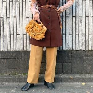 (LOOK) design wool pants