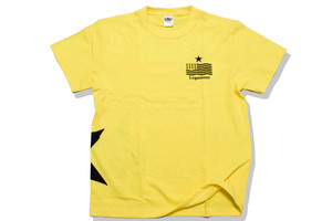 【STAR logo T-shirt】/yellow