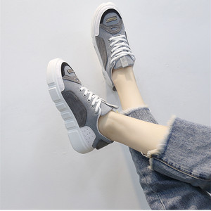 【sneakers】2018 new  sports casual Korean style thick bottom sneakers