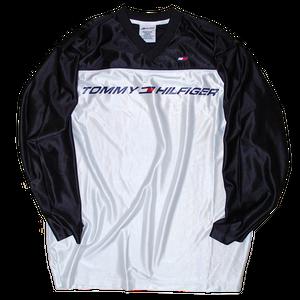 """Tommy Hilfigar"" Vintage Hockey Shirt Used"