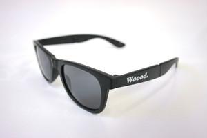 Woood.sunglass/black(折りたたみ)