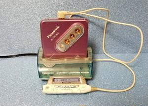 MDポータブルプレーヤー Panasonic SJ-MJ80 非MDLP 完動品