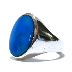 Vintage Sterling Silver Mexican Turquenite Ring