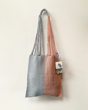 HAMMOCK BAG M gray light pink