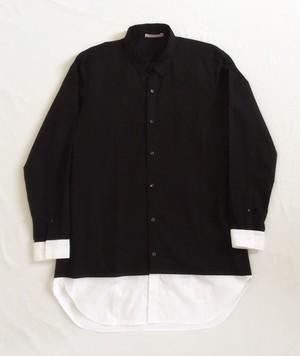 SSM- BLACK or WHITE 長袖Shirt