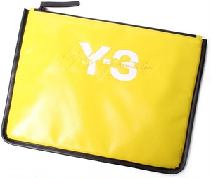 Y-3 ワイスリー POUCH イエロー ロゴ[全国送料無料]r016342