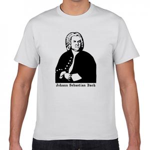 J.S.バッハ ドイツ 音楽家 歴史人物Tシャツ026