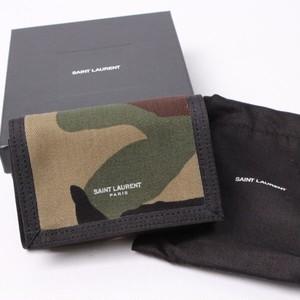 SAINT LAURENT PARIS サンローラン パリ 三つ折り財布[全国送料無料] r016016