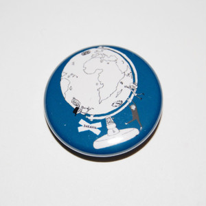 Globe Button Badges