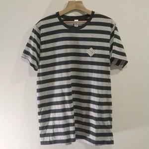ボーダーTシャツ / BLACK×GRAY