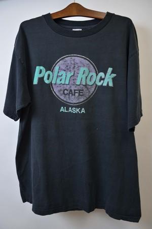 【XLサイズ】 POLAR ROCK CAFE ALASKA TEE  ポーラーロックカフェ 半袖Tシャツ BLACK 400601190724