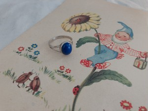 AMERICA vintage 925silver ring