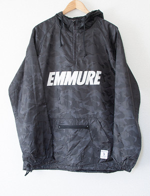 【EMMURE】Cult Black Camo Windbreaker (Black Camo)