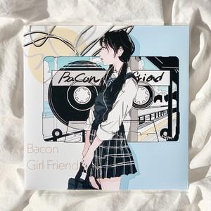 【7inch】Bacon / Girlfriend (同内容のCD-R付)