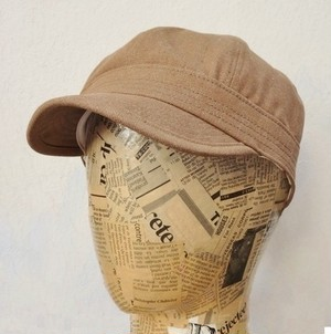 SPECIAL 8P WORK CAP(10oz BROWN DENIM)