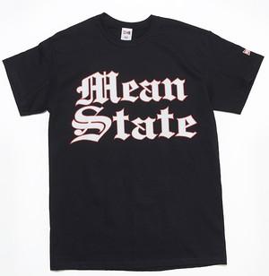 MEAN STATE S/S COOP TEE - BLACK