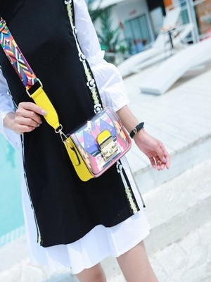 【accessories】Summer transparent jelly shoulder bag